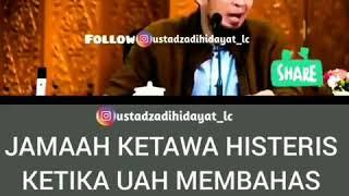 Ustadz adi hidayat lc, ma //lucu ketika ustadz adi membahas masalah romantis saat proses melamar