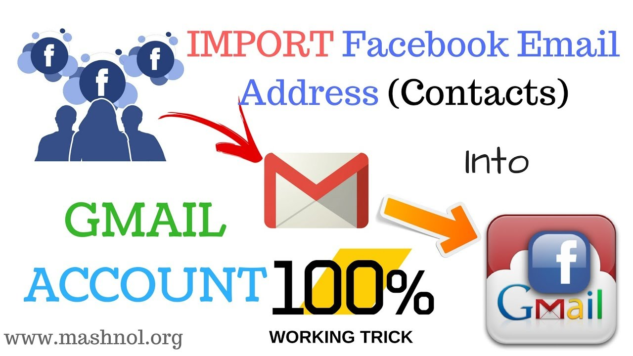How To Import Your Facebook Contacts into Gmail Account - 2018