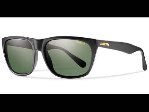 8af0d35a73d0f SMITH Optics Tioga Polarized Sunglasses - Smith Archive Collection - YouTube