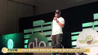 Okey Bakassi On Stage  GLO LAFFTA FEST 2015