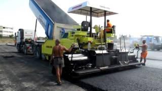 Асфальтоукладчик AMMANN. Дорожно-строительная техника(, 2011-10-16T20:35:31.000Z)