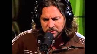 Pearl Jam AOL Sessions