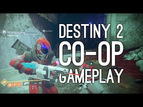 Destiny 2 Co-op Gameplay: Let's Play Destiny 2 Co-op! AND DANCING (Strike Gameplay) - Ep. 1/2
