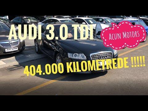 !!404.000 KİLOMETREDE!!! Audi A6 3.0 TDi Test/Sürüş İzlenimi