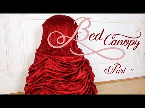 BED CANOPY TUTORIAL - Part 2| Merveilles en Papier