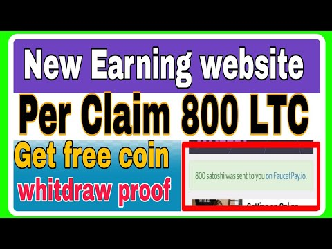 Get Free Coin    New Litcoin Faucet    Per Claim 800 LTC    Litcoin Mining website
