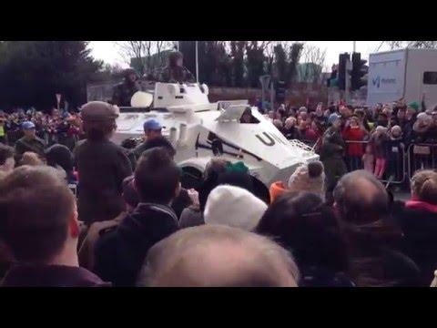 EasterRising MainParade Dublin 2015 - UN Contingent