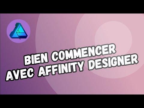 Bien commencer avec Affinity Designer