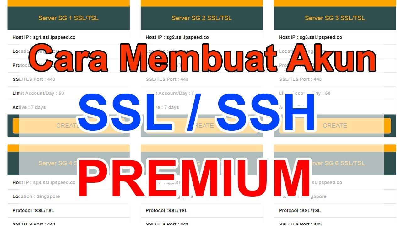 Premium Ssl Account