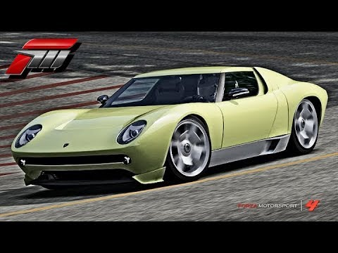 Forza 4 Lamborghini Miura Concept Review Youtube