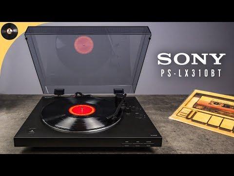 Обзор проигрывателя винила Sony PS-LX310BT