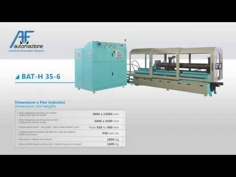 Assembly and test benches for hydraulic cylinders: all the models and technical information