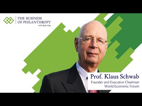 Prof. Klaus Schwab; A Conversation with Badr Jafar