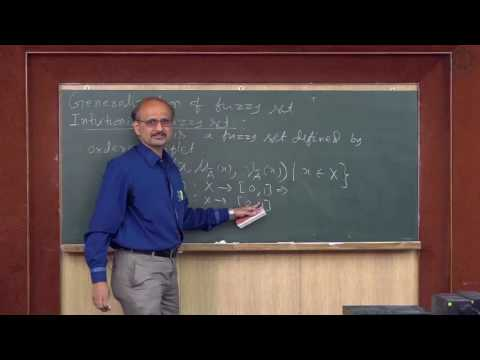 Type2 fuzzy set , Instutionistic fuzzy set & Extension principle - Lecture 06 By Prof S Chakraverty