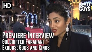 Golshifteh Farahani Interview -  Exodus: Gods and Kings Premiere