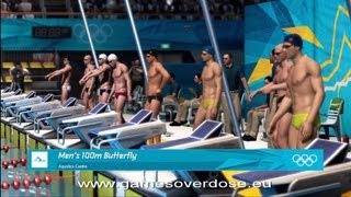 Men's 100m Butterfly | London 2012:The Olympic Games | XBOX 360 | Hard