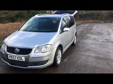 For Sale Volkswagen touran 7 seater 57 Plate