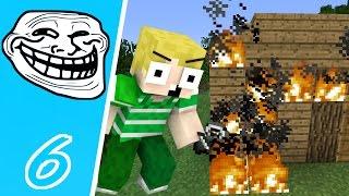 Dansk Minecraft - Trolling #06: ALT BRÆNDER!!