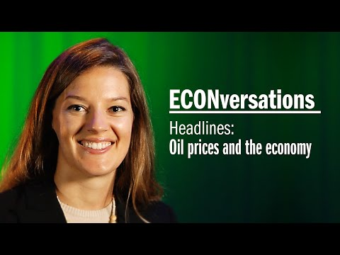 ECONversations: Oil Prices and the Economy Headlines