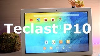 Teclast P10 Una tablet para Estudiantes reviews español