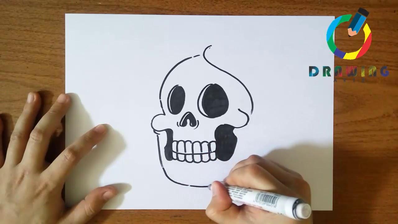 رسم جمجمه أسرار العوالم Amino 1