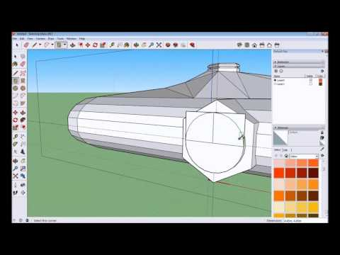 Spaceship Construction 3D Modelling Timelapse