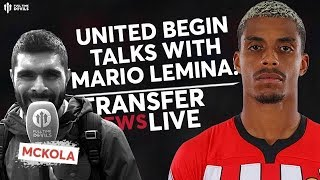 United Begin Talks With Lemina! | Man Utd Transfer News