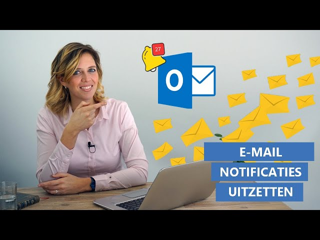 Notificaties uitzetten Outlook e-mails
