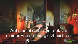 Left 4 Dead 2 - Best Epic Tank Fight Ever!