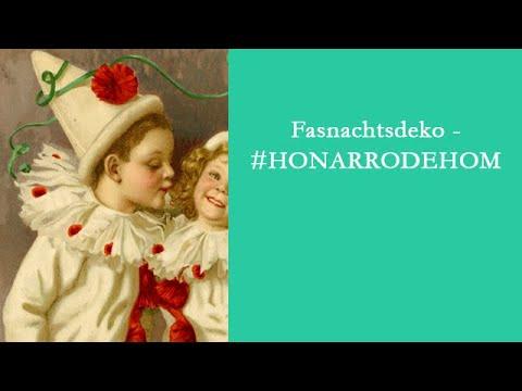 #DigitalerKulturgenuss: Fasnachtsdeko - #HONARRODEHOM