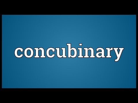 Header of concubinary
