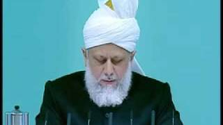 Friday Sermon : 9th October 2009 - Part 3 (Urdu)