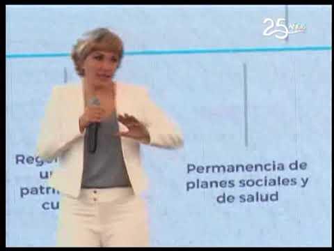 Propuestas de Cynthia Viteri apuntan a 5 ejes de trabajo