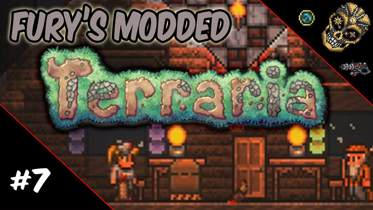Fury's Modded Terraria | Episode 7: Quest for Luggage