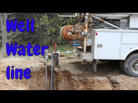 Off Grid Well, Water Line and Yard hydrant Installation