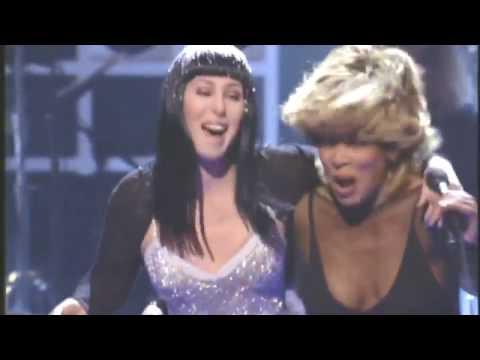 Tina Turner Elton John & Cher   Proud Mary DVD Quality