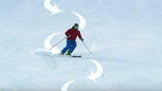 Skifahren - Top 5 Übungen: Kurzschwung lernen | Skifahren Technik | Quick-Tipp #2