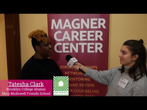 CAREER ADVICE: Tatesha Clark (Mary McDowell Friends School)