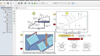 Flat Plate Solar Collector Network | for Solar Still | Desalination | Matlab | Simulink Model
