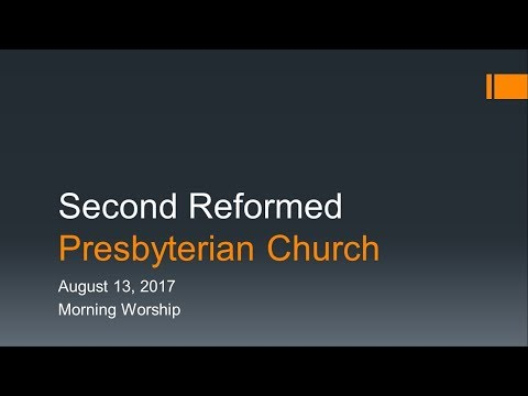 Second RPC August 13, 2017 AM Service
