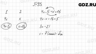 № 95 - Алгебра 7 класс Мерзляк