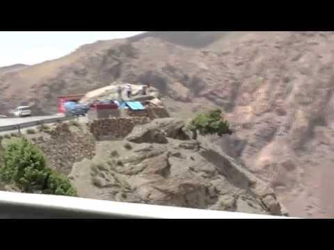 High Atlas Mountain Drive, Morocco