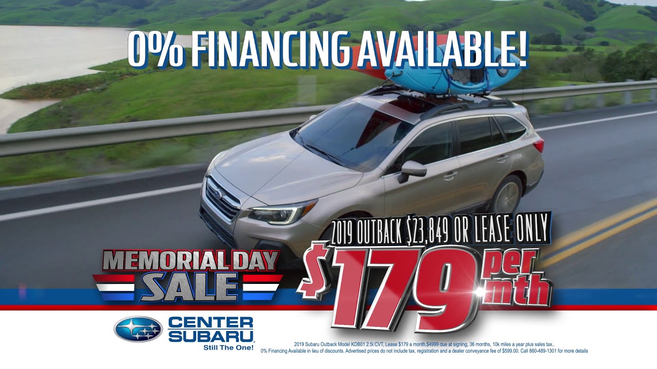 Subaru 0 Financing >> Only Center Subaru Has 0 Financing For 72 Months On New Outbacks