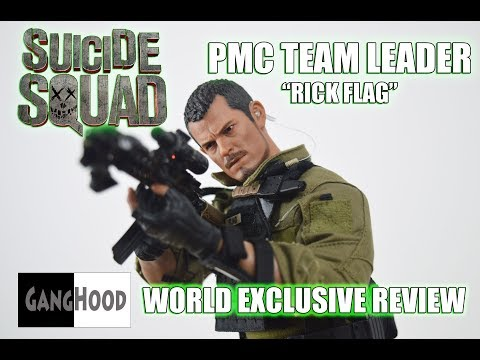 World Exclusive Review Ganghood 1/6 PMC Team Leader ( Rick Flag Suicide Squad )