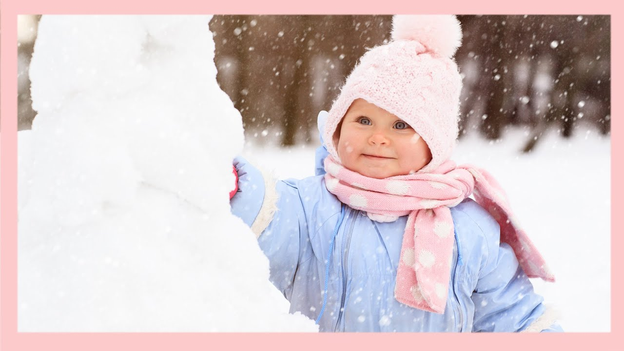 Snow Angel Baby 😊 - Hilarious Baby - Adorable Moments