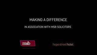 Making a Difference in association with MSB Solicitors