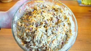#Салат с печенью, ВКУСНЕЙШИЙ САЛАТ ВСЕГО 4 ИНГРЕДИЕНТА
