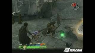 The Lord of the Rings: The Return of the King GameCube