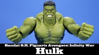 S.H. Figuarts Hulk Avengers: Infinity War Bandai Spirits Tamashii Nations Action Figure Review