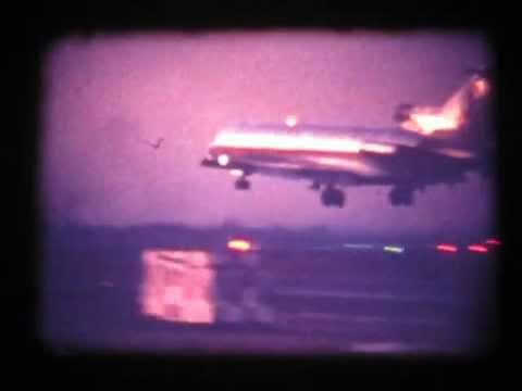 Aircraft filmed while standing on LaGuardia runway 31 - 1968